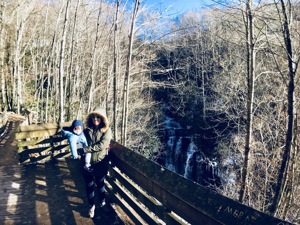 Soco Falls, Maggie Valley, NC