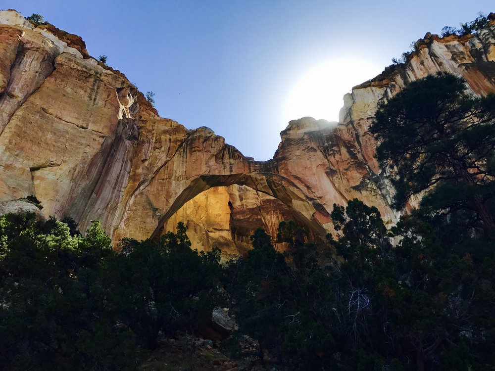 La Ventana Arch - only a half mile round trip  to see this beauty.