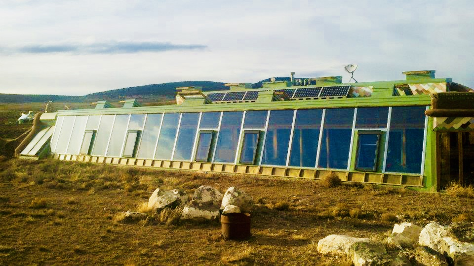 Our 2 bedroom Earthship rental