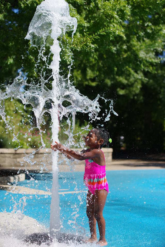 Norfolk Botanical Gardens Splash Pad