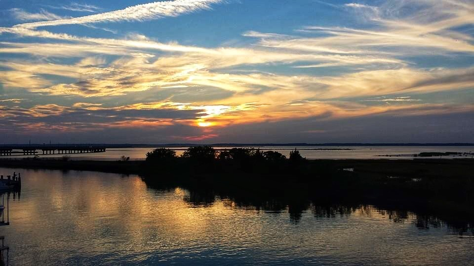 Chincoteague Island Sunset