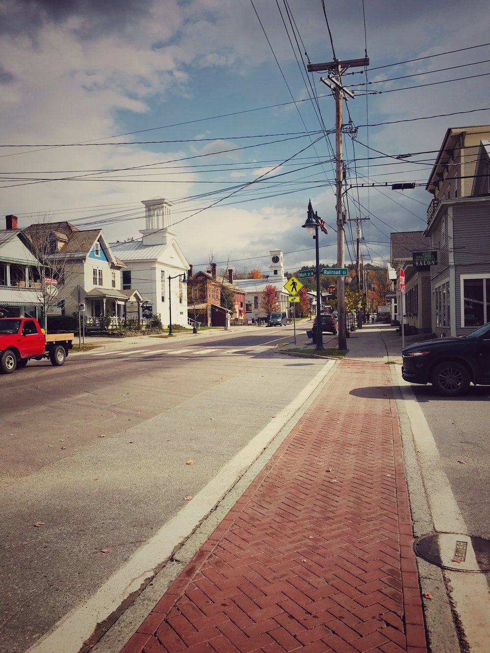 Johnson is a quintessentially cute little New England town.