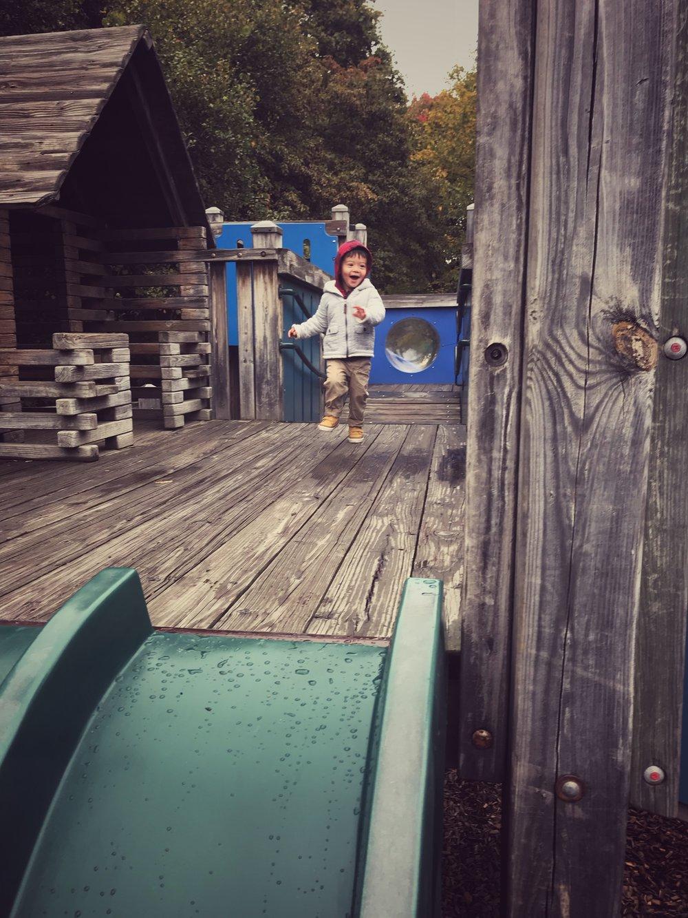 Ben and Jerry's Playground Vermont