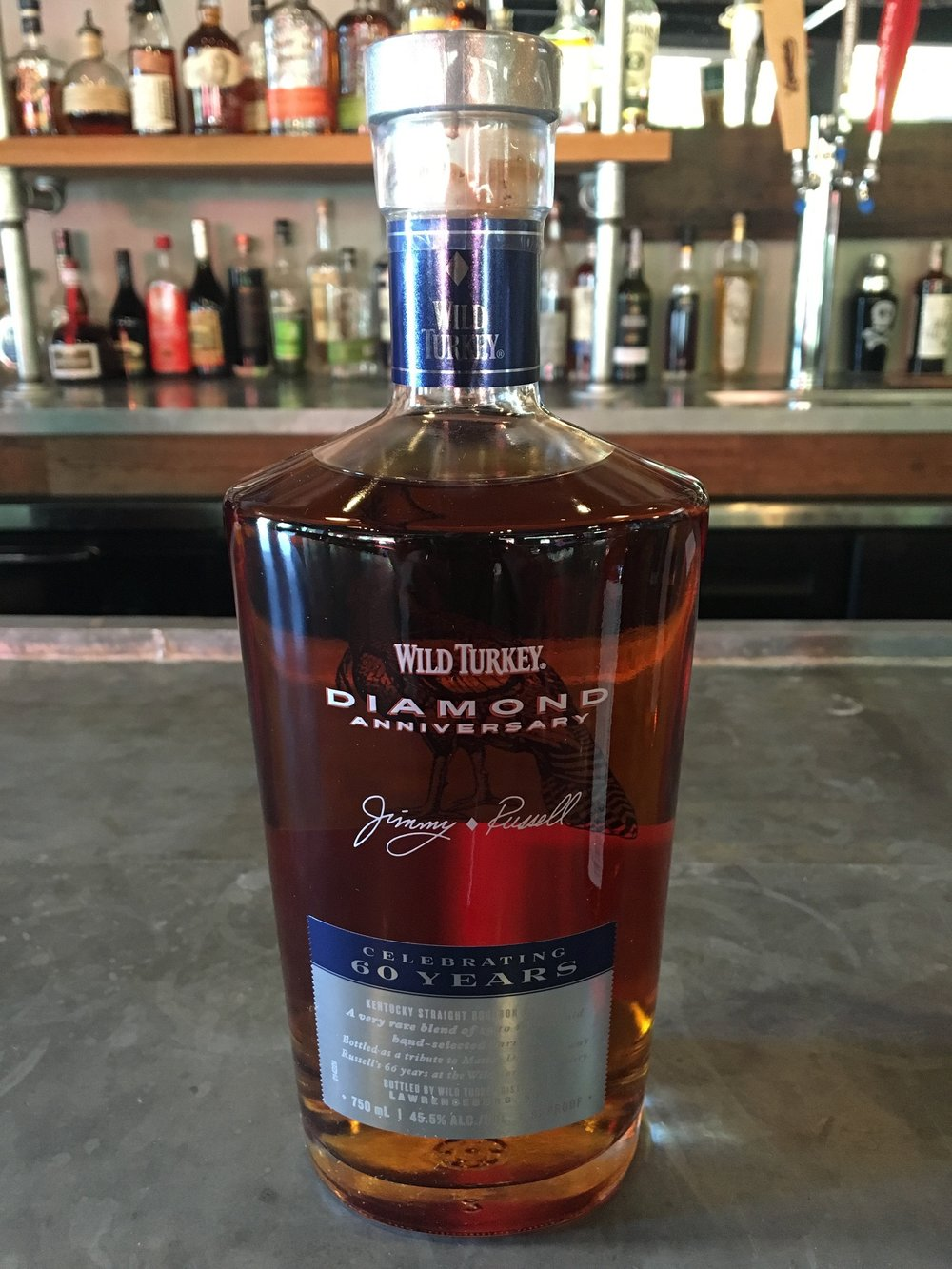 Wild Turkey Diamond Anniversary