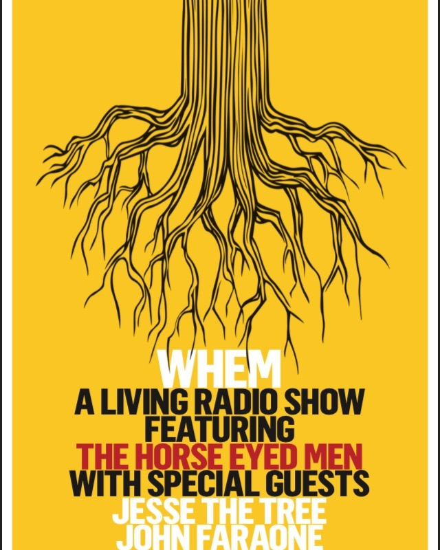 Thursday Feb 7th- the return of WHEM! Featuring @johnfaraone and @jessethetree Doors at 7//Show at 8! @columbustheatre
