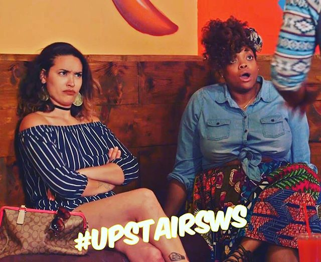 The face you make when someone says they haven't seen #UpstairsWS yet? 😂😂 Episode 4 dropping in less than an hour!
