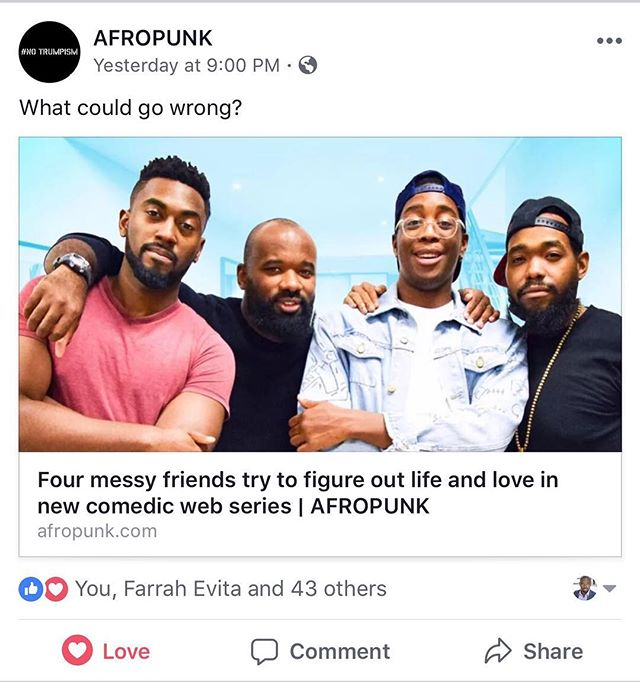 Make sure you head over to @afropunk and check out the series there! #LinkInBio