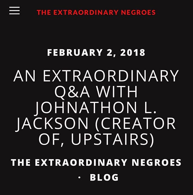 Check out this article from @theextranegroes from our creator @thejohnljackson talking #UpstairsWS on their website right now!