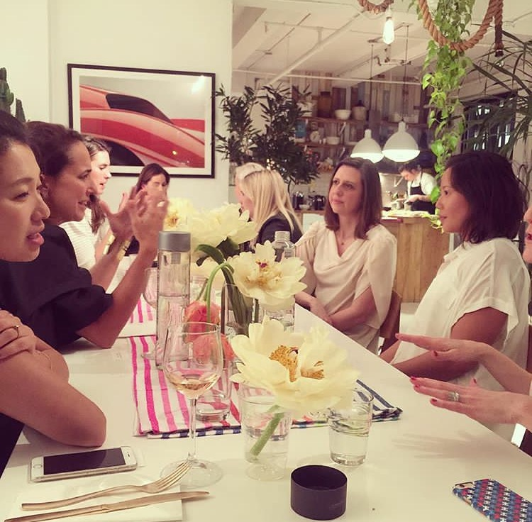 Silicon Valley Style Dinner NYC hosted by Poshmark and Marie Claire Editor-in-Chief Anne Fulenwider