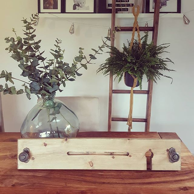 *GIVEAWAY* *GIVEAWAY* *GIVEAWAY* I've teamed up with @white_attic_design to offer you 2 lovely prizes. 1. Handmade rustic bath board (will fit any standard size bath) complete with ipad/tablet holder and more importantly a wine glass holder!  2. Macrame plant hanger (plant not included) in a choice of mustard, cream or grey. Both as pictured. . To be in with a chance of winning both of these handmade items in time for Christmas all you have to do is make sure you are following both myself and @white_attic_design and tag a friend...it's that easy! You can enter as many times as you like by tagging more friends. . The competition will close on Wednesday and is open to UK entries only. Winner will be picked out on stories  Not endorsed by Instagram. . GOOD LUCK 💕💕💕