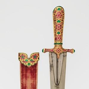 Dagger and Sheath ca. 1605–1627 Indian, Mughal