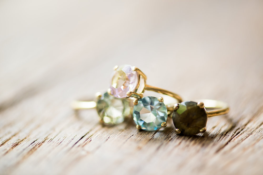 Luscious gemstones -