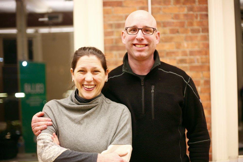 Julie Robbins and Steve Machesney