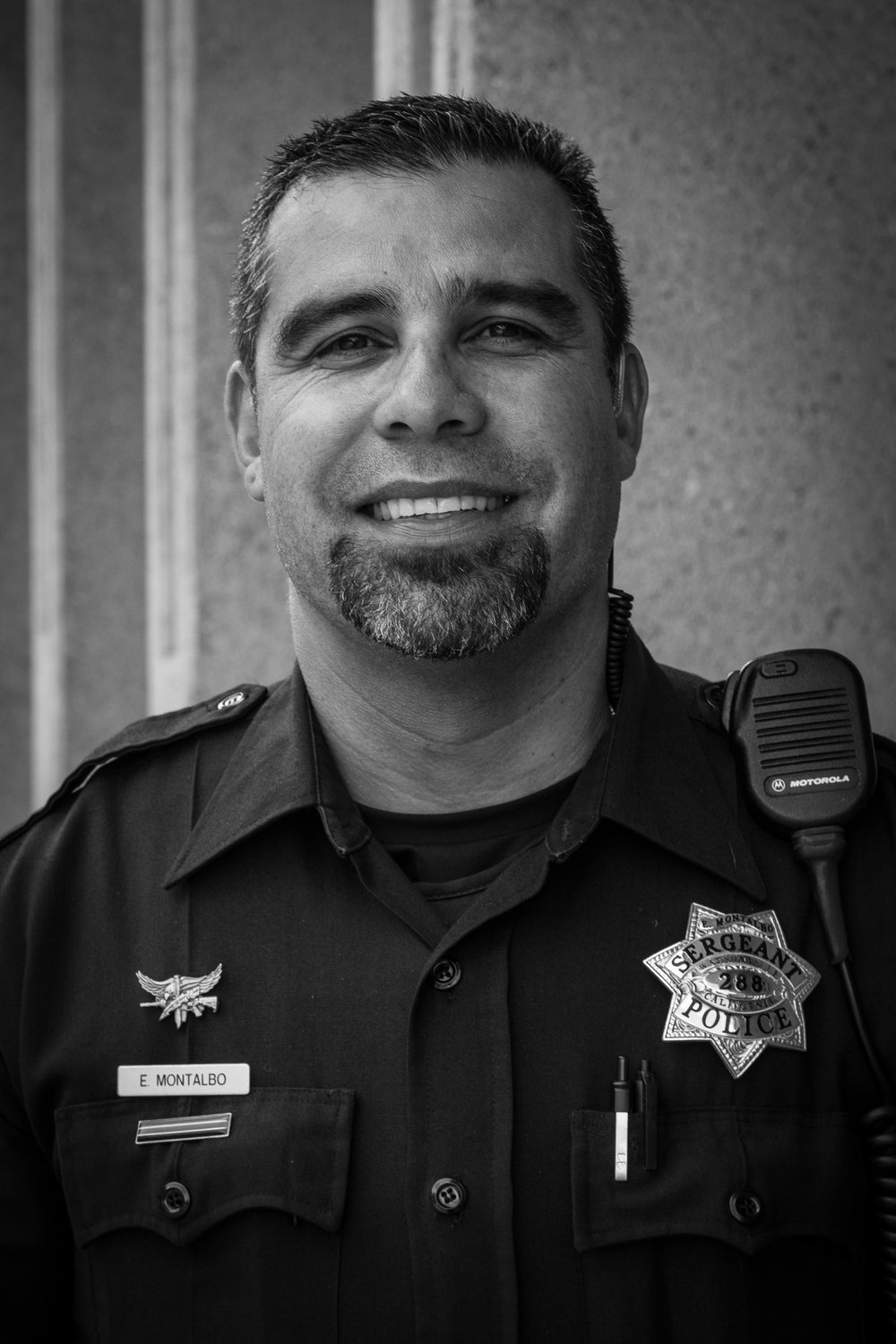 Eric Montalbo   This is Eric's 3rd year supporting the Jacob's Heart fundraiser and he is happy to support his fellow officers in their efforts.