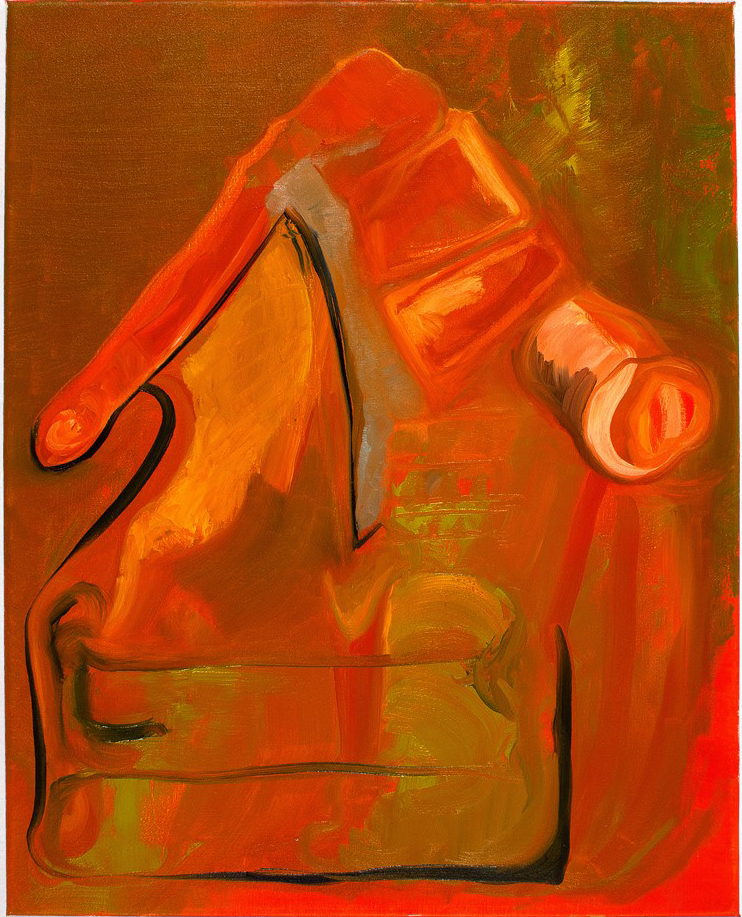 Couch Ride  2012 oil on canvas 20 x 16 in.