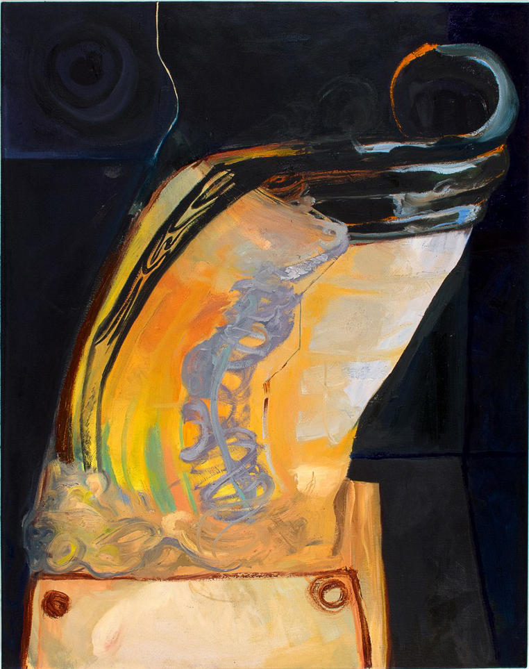 Headroom  2012 oil on canvas 48 x 38 in.
