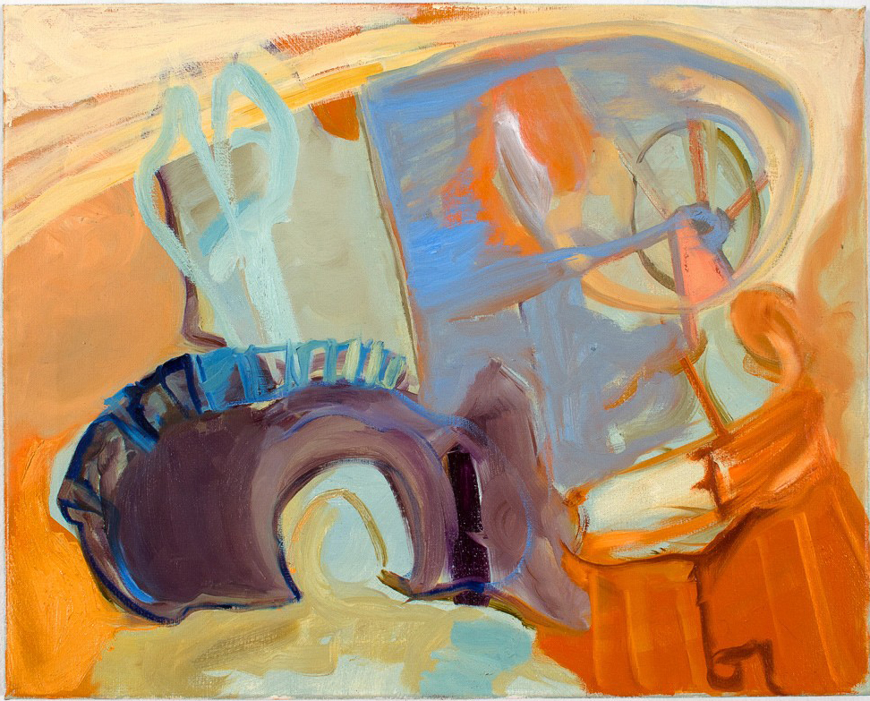 Martingale  2013 oil on canvas 16 x 20 in.