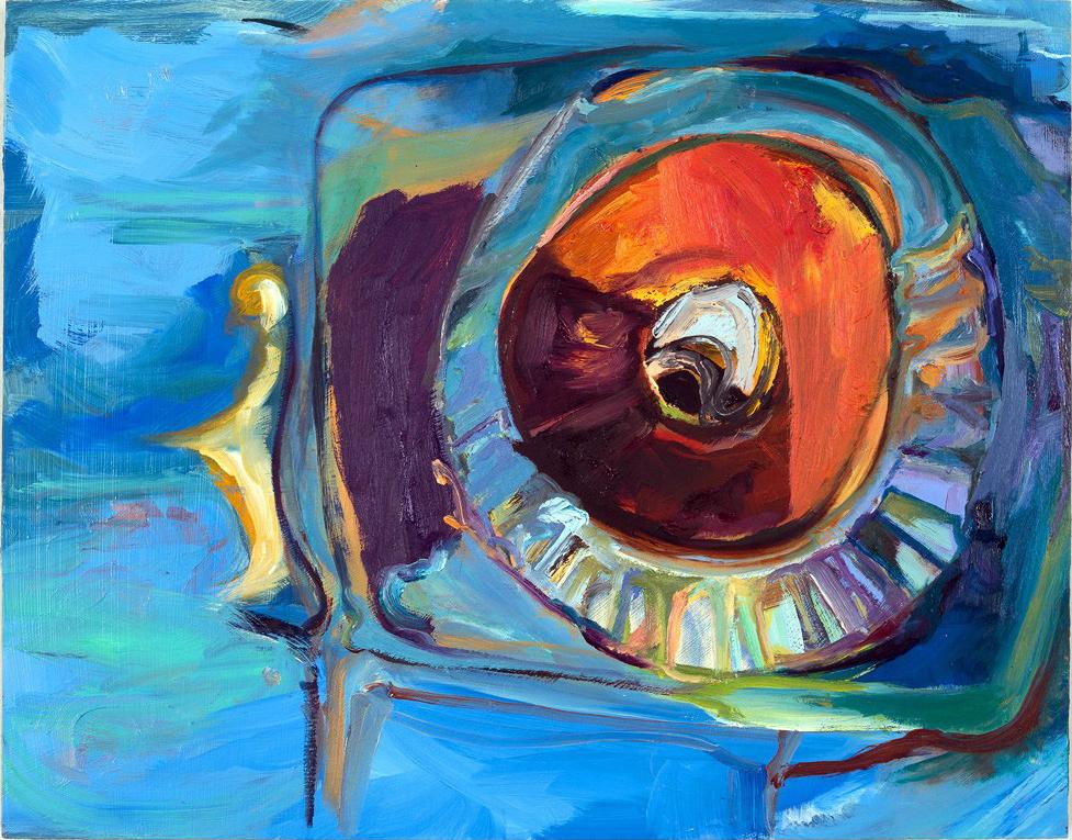 Phaethon  2013 oil on panel 11 x 14 in.