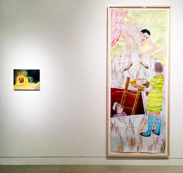 Ashley Garrett and Charles Garabedian at Torrance Art Museum, CA
