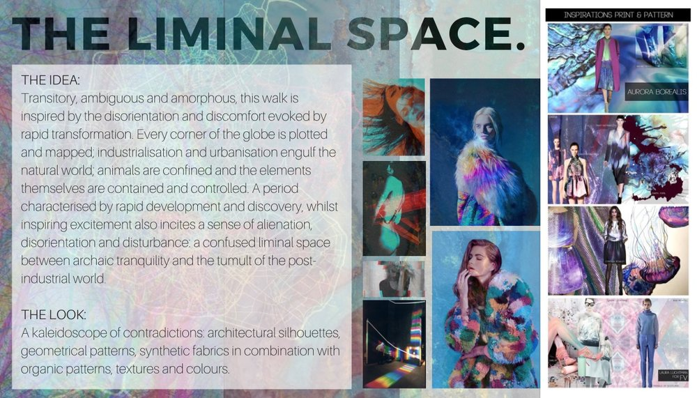 The existence of a 'liminal space' is a concept which we would like to explore. As we move into a world governed by technology, we find ourselves in a space of confusion torn between nature and modernity   -