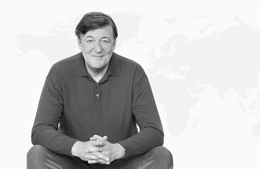 "Stephen Fry, President of Mind - ""There is an enormous stigma: Britain is a country, perhaps more than any other where you might say that the national emotion is embarrassment. And nowhere is that clearer when it comes to issues of mental health."""