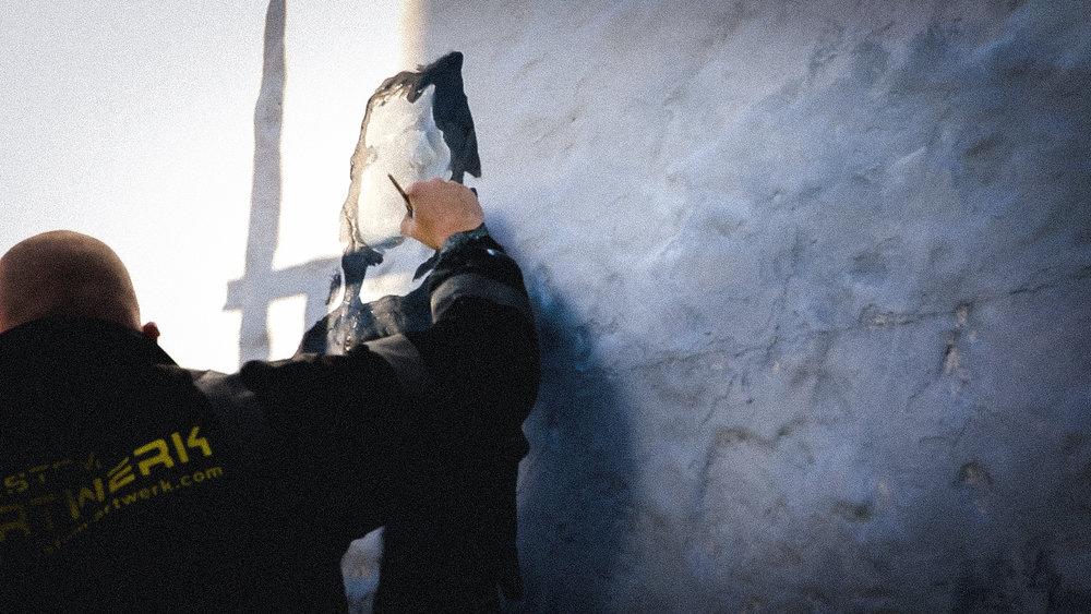 Lee Ferry,  Custom Artwerk Bespoke Artwork and Murals    Photography credit: Alasdair Harriss