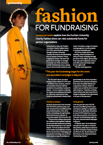 FUNDRAISING MAGAZINE | CIVIL SOCIETY