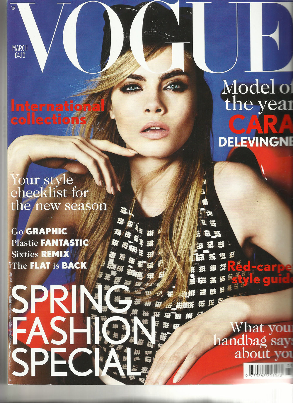 British Vogue 3/2013 Cover