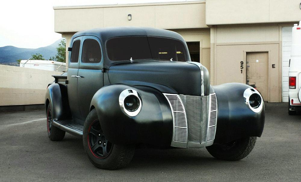 1940 Ford 4x4 4-Door Deluxe Truck