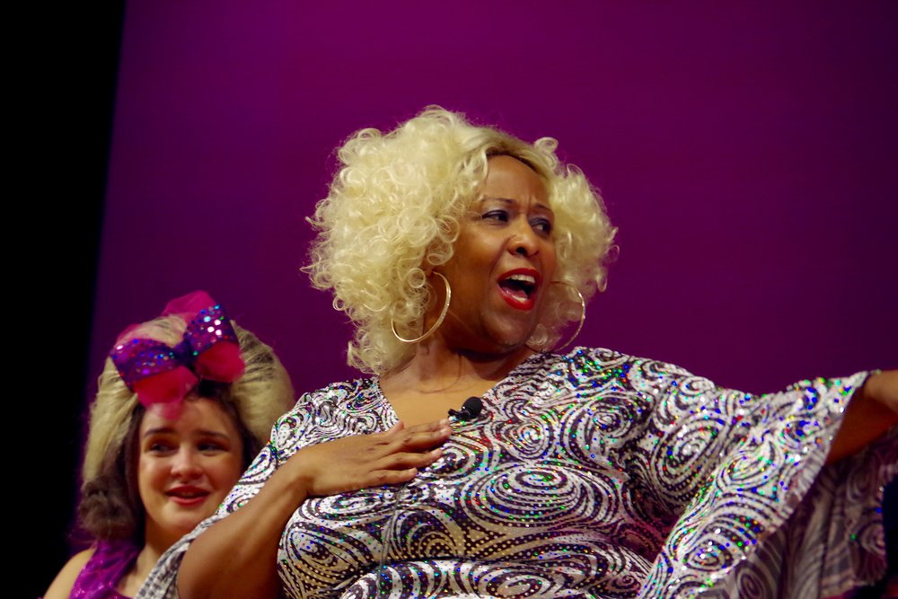 Lisa Foster Wilson as Motormouth Maybelle.
