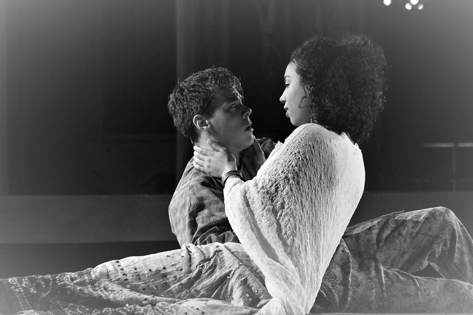 Johnson and Jamison as Romeo and Juliet. Mike Franzman Photos.