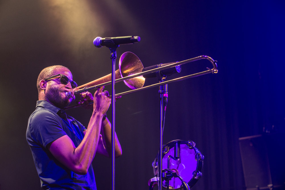 Trombone Shorty at College Street. hoto courtesy College Street Music Hall.