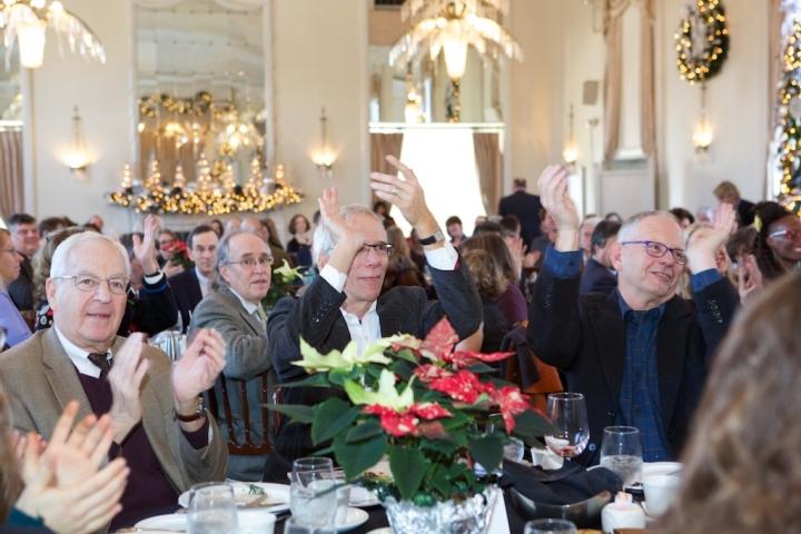 A table at the 2015 Arts Awards. Judy Sirota Rosenthal Photo.