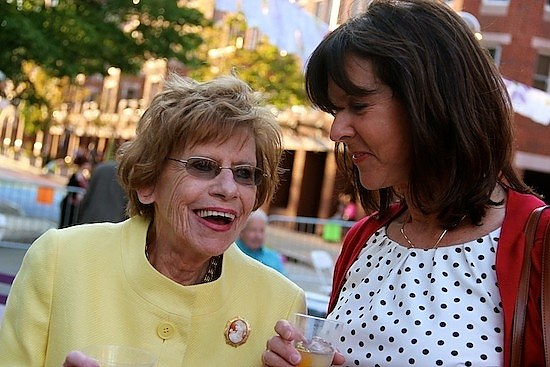 Clark at The Arts Council's 50th birthday party on Audubon Street. Lucy Gellman File Photo.