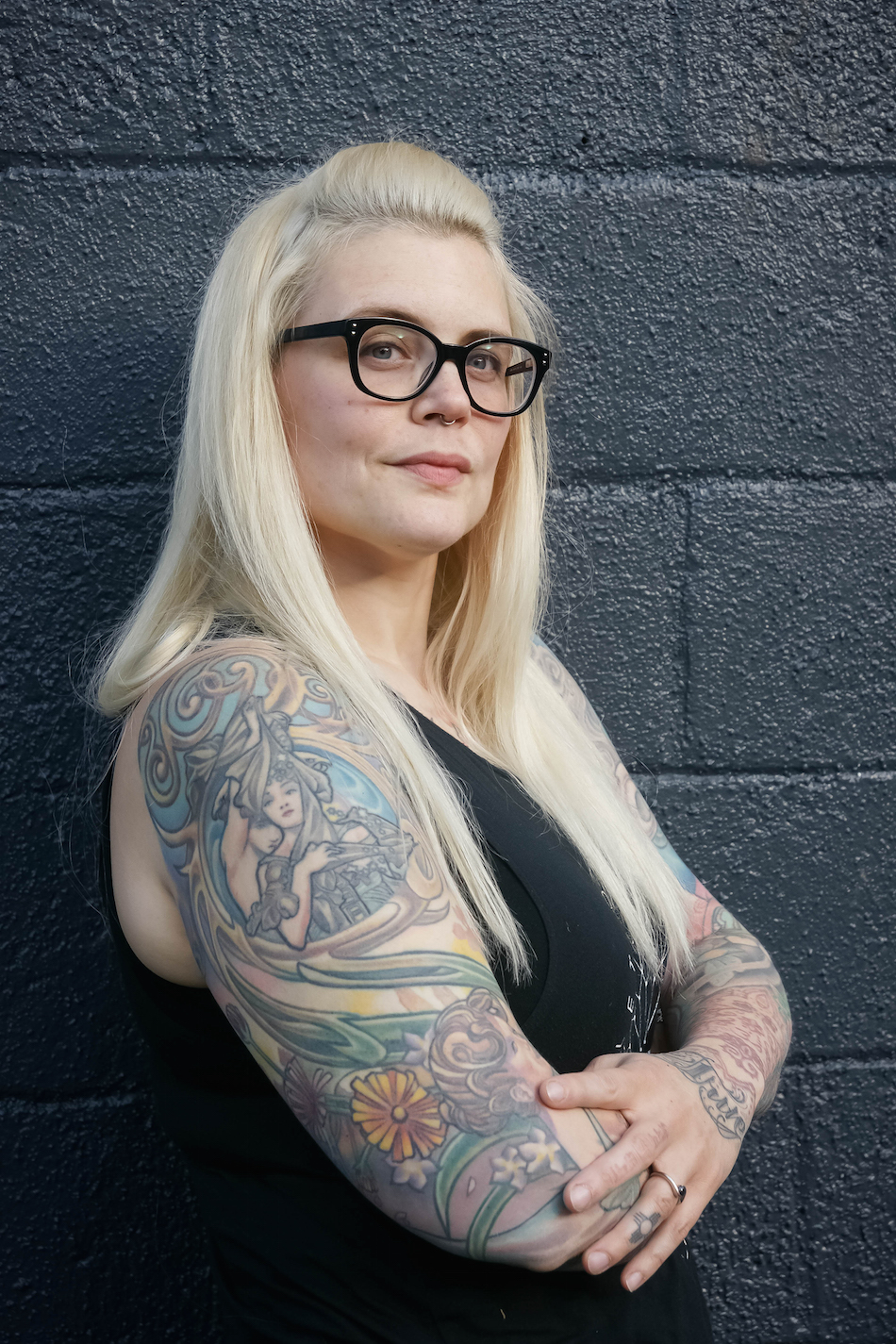 Tracey Rose of Lucky Soul Tattoo.