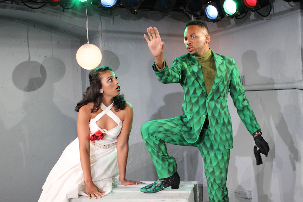 Courtney Jamison as Eve and Erron Crawford as The Serpent. Brittany Bland Photo.
