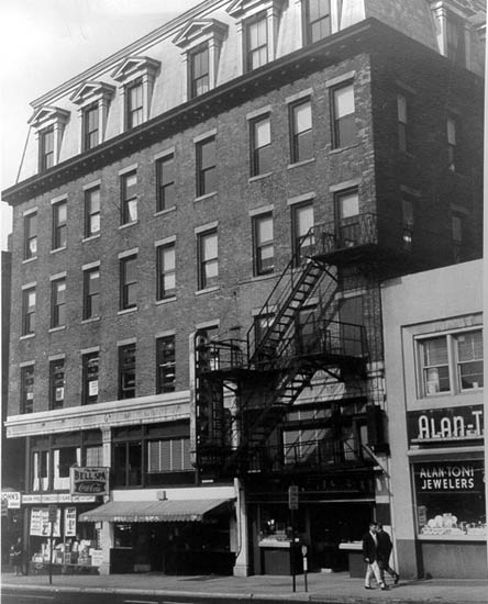 The original Boardman building. National Park Service Photo.