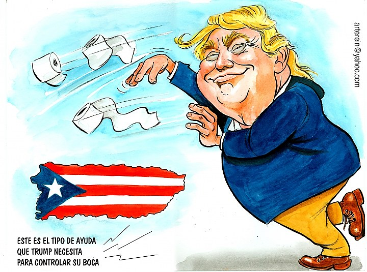This is a good cartoon. We want your bad cartoons. Seriously. REINALDO GOEYENECHEA for LA VOZ HISPANA.