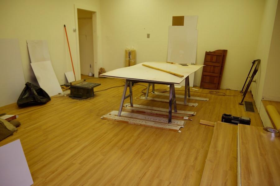 Renovations underway! Lucy Gellman Photo.