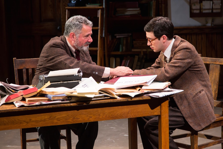 Steven Skybell and Max Wolkowitz as David and Reuven Malter. T. Charles Erickson Photo.