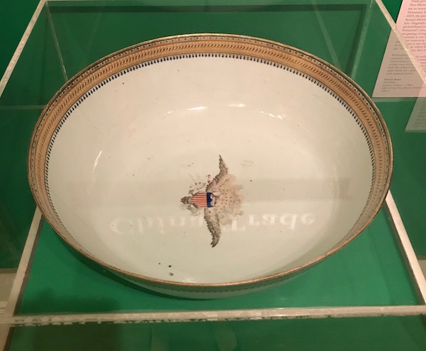 The bowl that will be on display