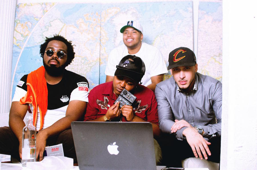 Chef the Chef, Moon, Mark Da Mighty and DJ Fife Finesse. Kasaad Bullock Photo.