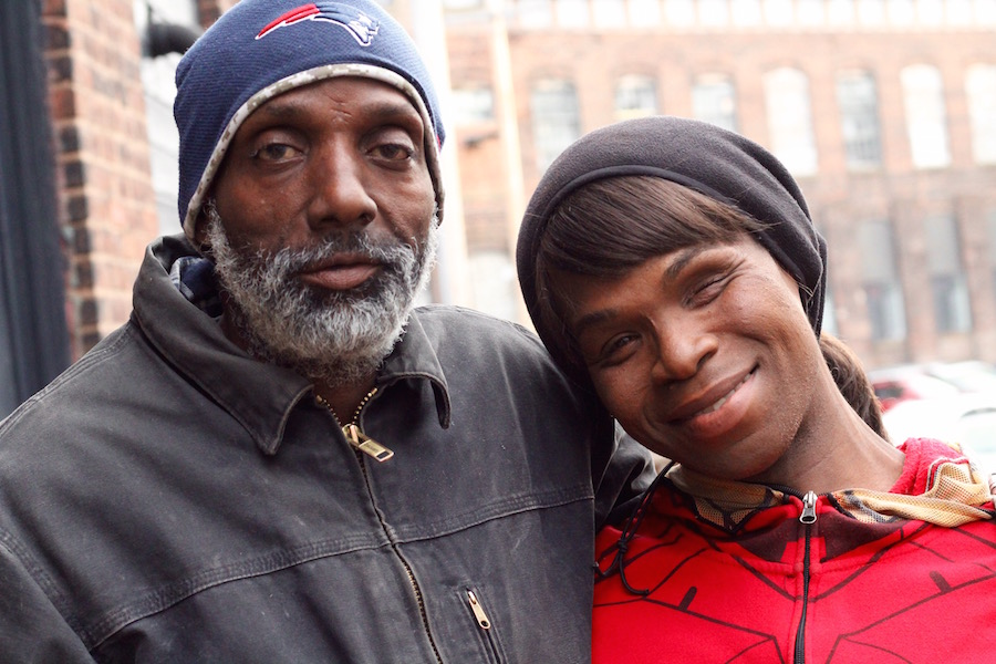 Terry Allick and her husband, Bealton Dumas.