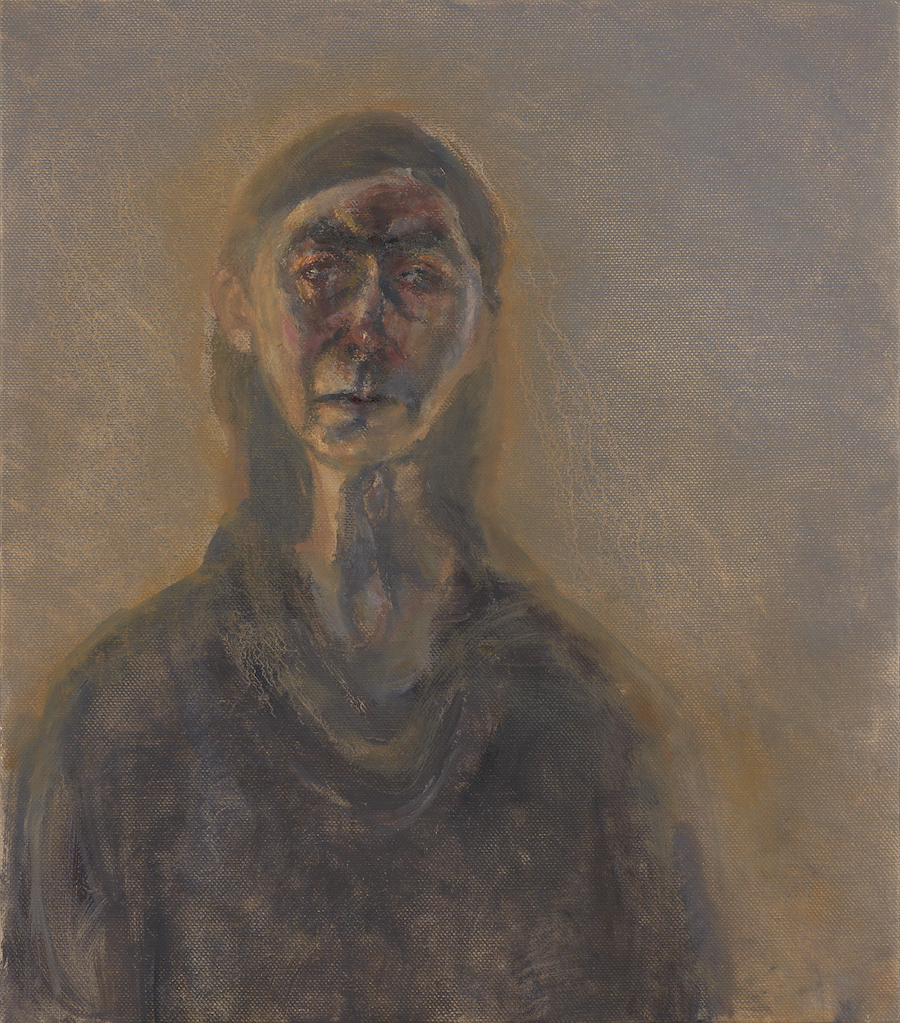 Celia Paul, Self-Portrait, March 2017. Image courtesy Yale Center for British Art.