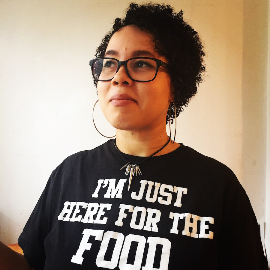 "Tiffany Jones: ""To realize that I could experience other people's cultures through their food … I love experiencing what other people feel to be nostalgic. Doing that through food is doing that in such a fun and gratifying way."" Tagan Engel Photo."