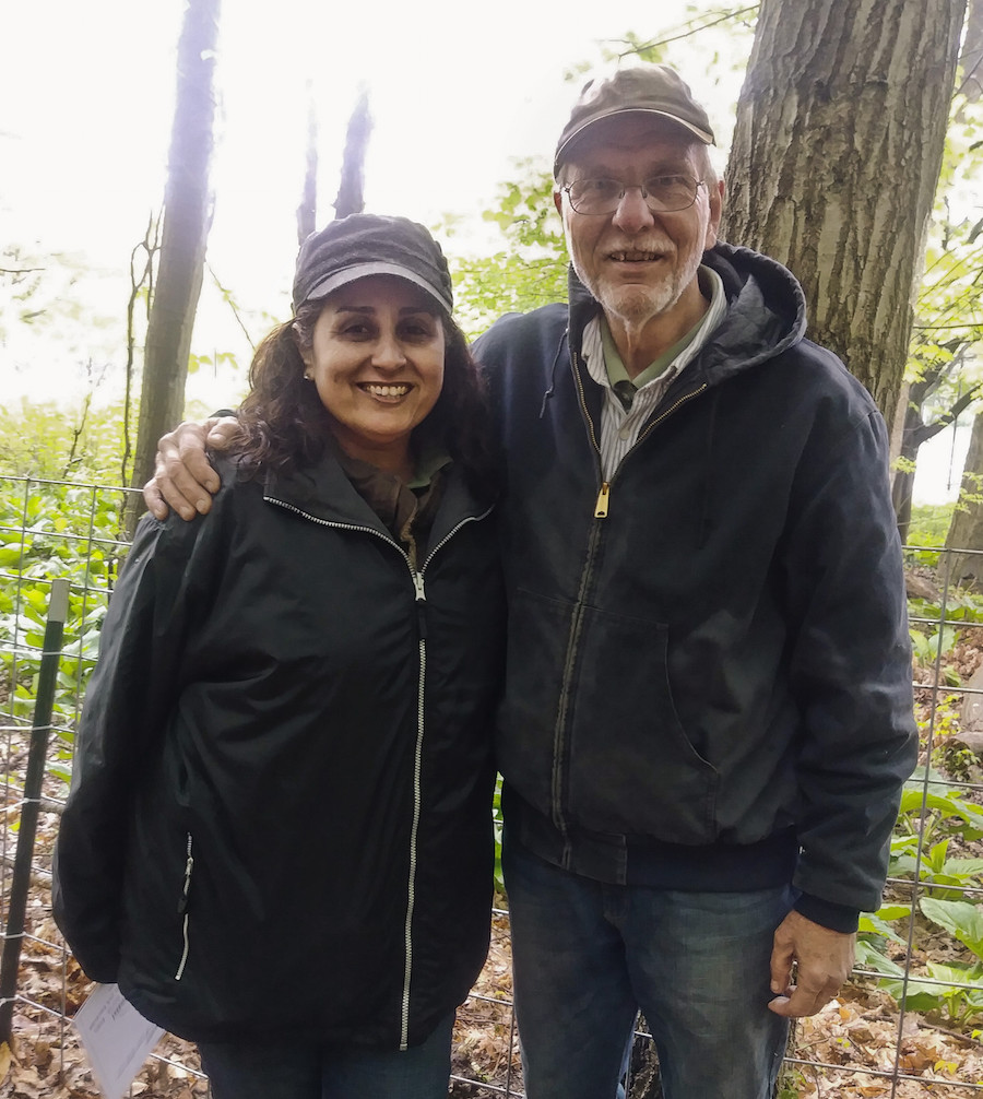 Anne and Larry Cihanek: We just wanted to make goat cheese!