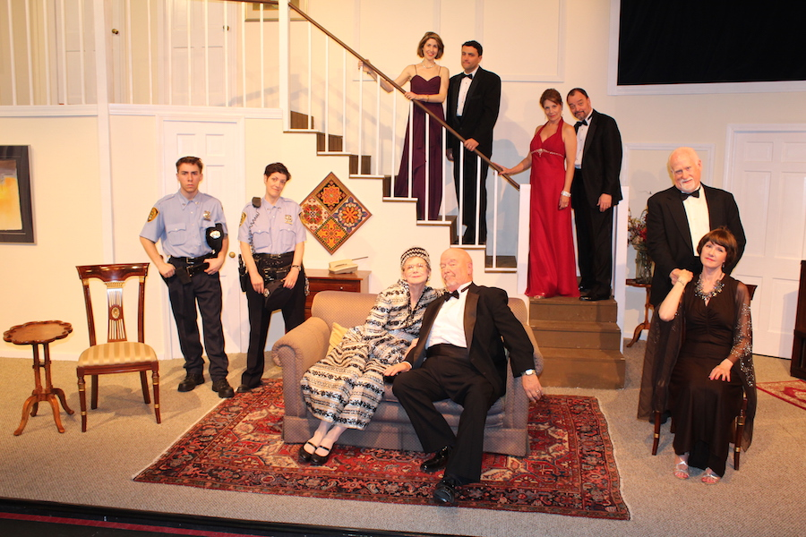 After opening last weekend, Neil Simon's  Rumors  runs this Thursday through Saturday at EBM Vintage downtown. More information on the New Haven Theater Company's  website .  Photo Courtesy New Haven Theater Company (NHTC).