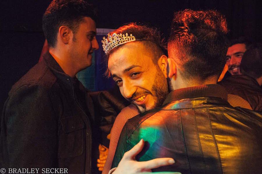 A still from  Mr. Gay Syria. Bradley Secker Photo.