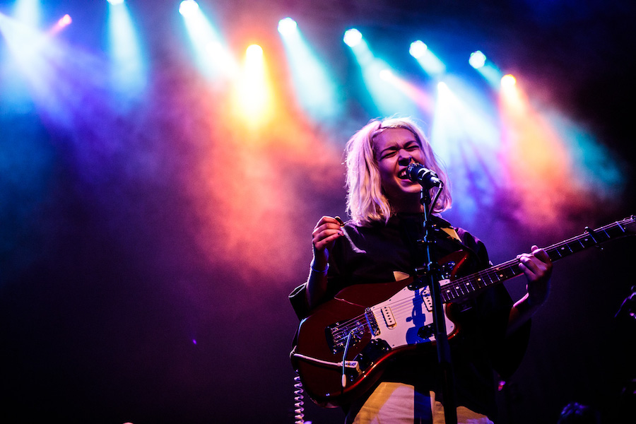 Snail Mail rocks the stage. Sachyn Mital Photo.