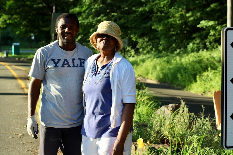 Kelechi Eleanya and Ms. Betty Thompson.
